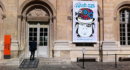 Exposition Gotlib 2014 au Musée d'Art et d'Histoire du Judaïsme à Paris