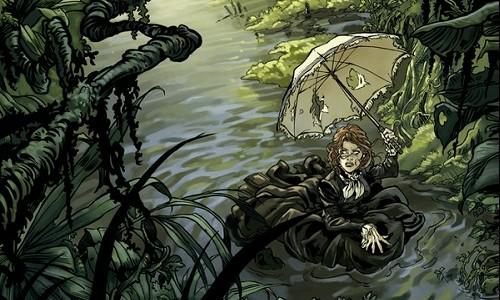 "BD 'Mary Kingsley"" de Julien Telo (Glénat 2014)"