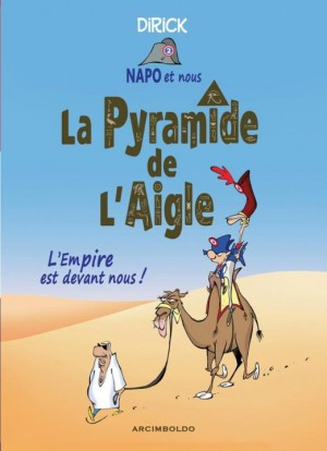 "BD ""la pyramide de l'Aigle"" de Jean-Pierre Dirick"