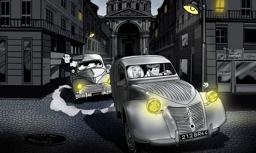 """BD """"Les voleurs de cerveaux"""" de Cyrille Launais (Sixto)"""