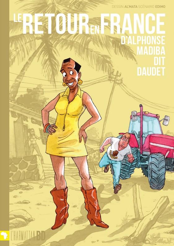 Le retour en France d'Alphonse Madiba dit Daudet (L'Harmattan BD)